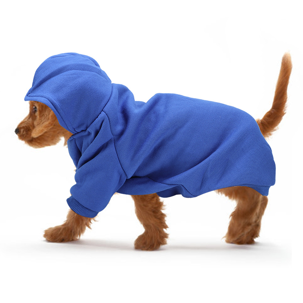 Pet-Dog-Puppy-Warm-Winter-Soft-Sweater-Hoodie-Jumpsuit-Coat-Clothes-Outwear thumbnail 29