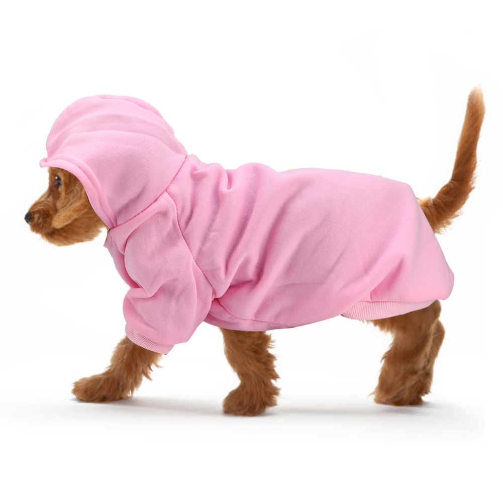 Pet-Dog-Puppy-Warm-Winter-Soft-Sweater-Hoodie-Jumpsuit-Coat-Clothes-Outwear thumbnail 47