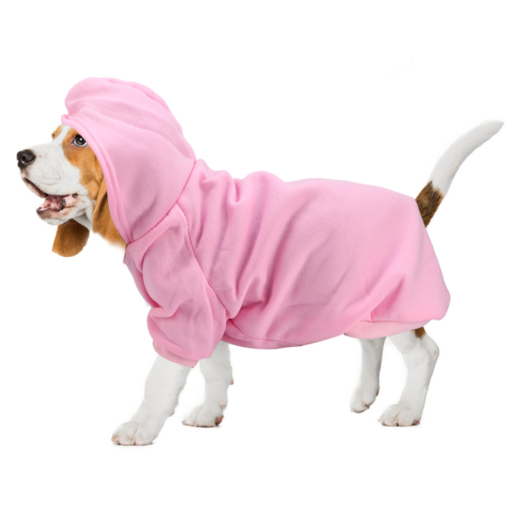 Pet-Dog-Puppy-Warm-Winter-Soft-Sweater-Hoodie-Jumpsuit-Coat-Clothes-Outwear thumbnail 48