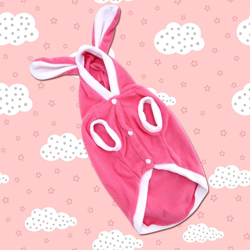 Warm-Cute-Rabbit-Styles-Puppy-Pet-Dog-Winter-Apparel-Clothes-Hoodie-Jumpsuit thumbnail 27