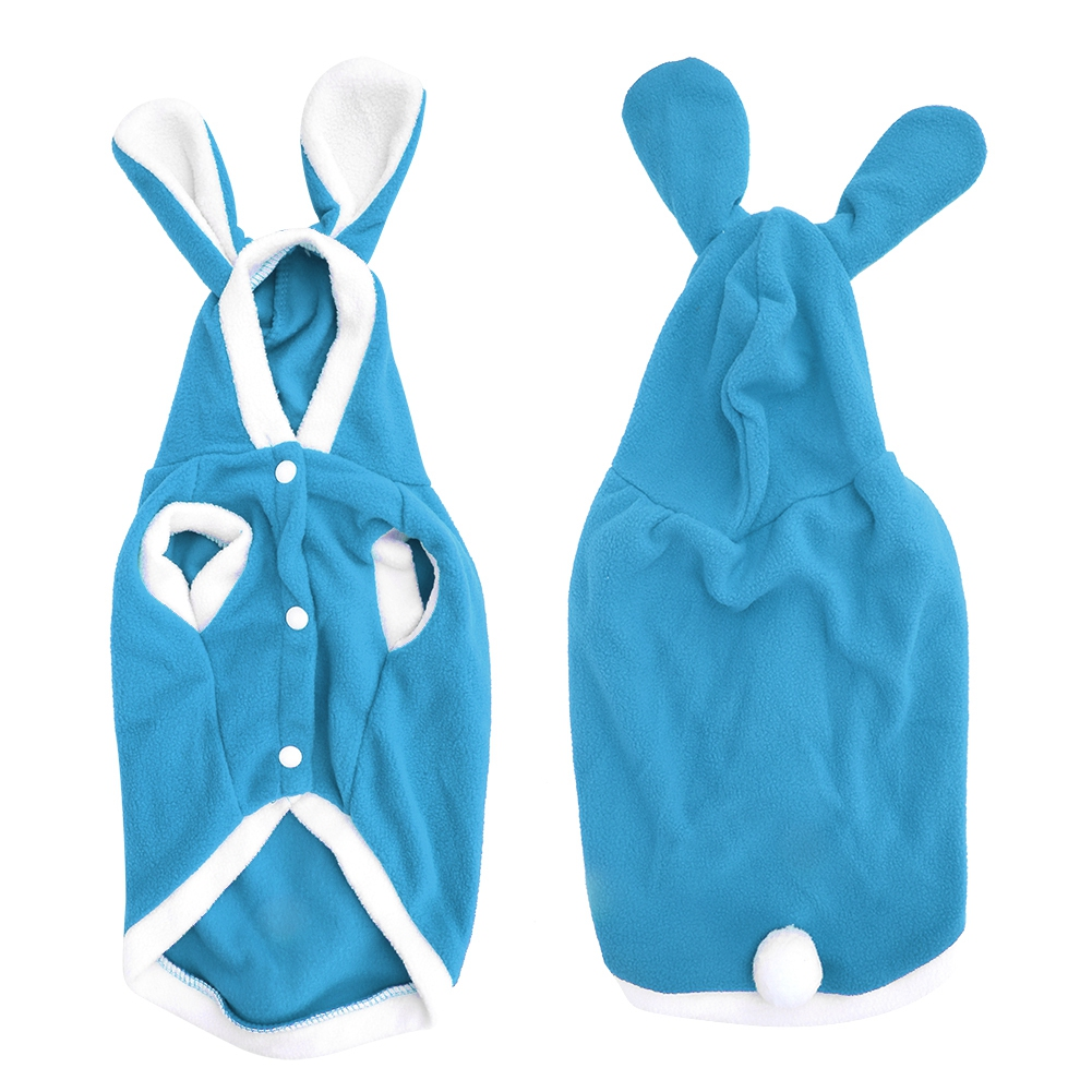 Warm-Cute-Rabbit-Styles-Puppy-Pet-Dog-Winter-Apparel-Clothes-Hoodie-Jumpsuit thumbnail 48