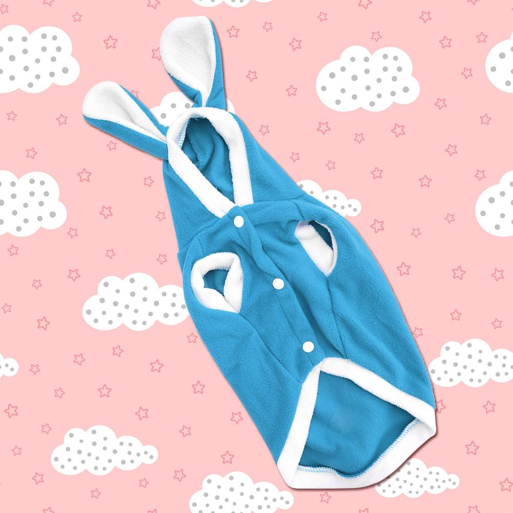 Warm-Cute-Rabbit-Styles-Puppy-Pet-Dog-Winter-Apparel-Clothes-Hoodie-Jumpsuit thumbnail 52