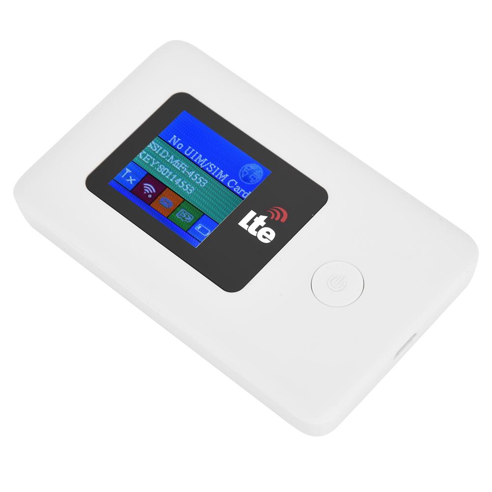 Carte SIM Routeur WiFi Modem 4G 2.4GHz 150Mbps Transmission de données Hotspot WiFi mobile ...