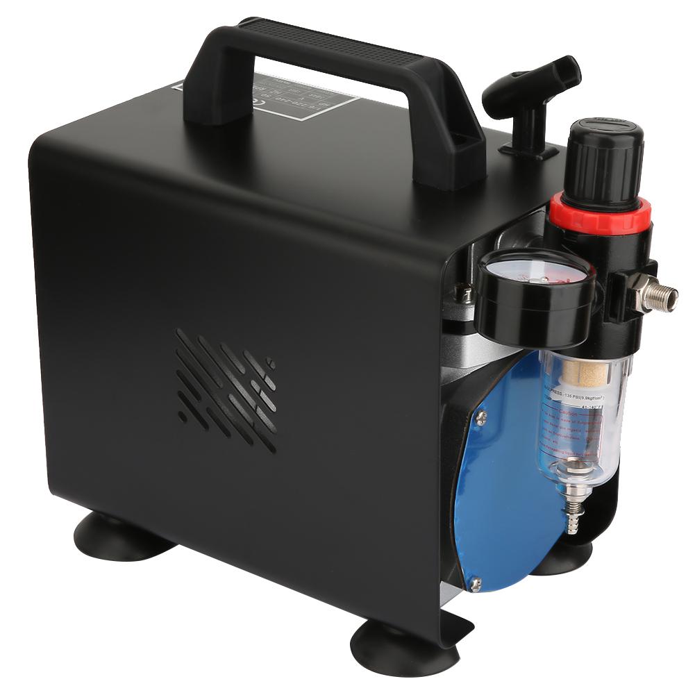Airbrush-Luftkompressor-Zylinderluftkompressor-3L-1-6-PS-Kompressor-5STAR Indexbild 7