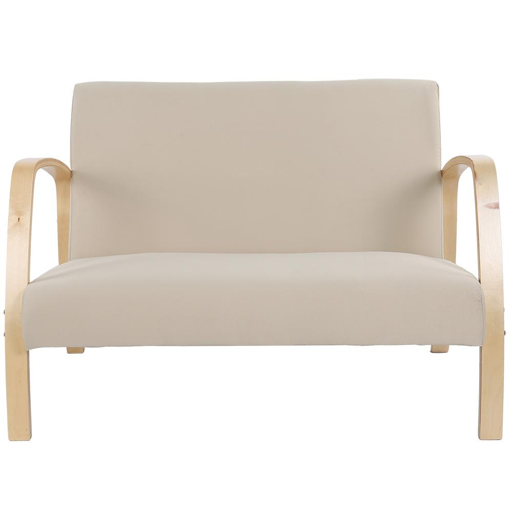 Canapé Qui S Affaisse Solution cen fauteuil en bois canapé 2 places, chaise de réception