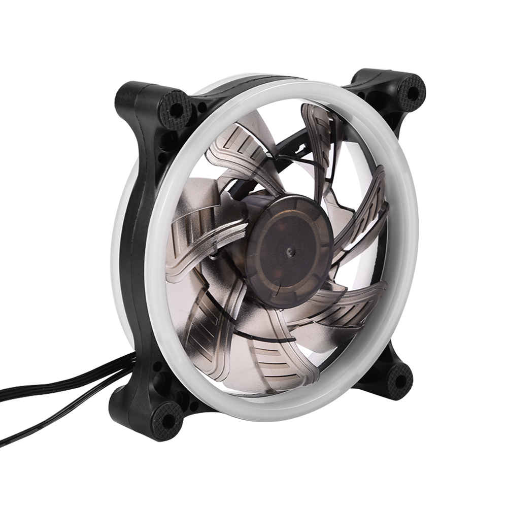 Computer Case Pc Rgb Cooling Fan Adjustable Led 120mm
