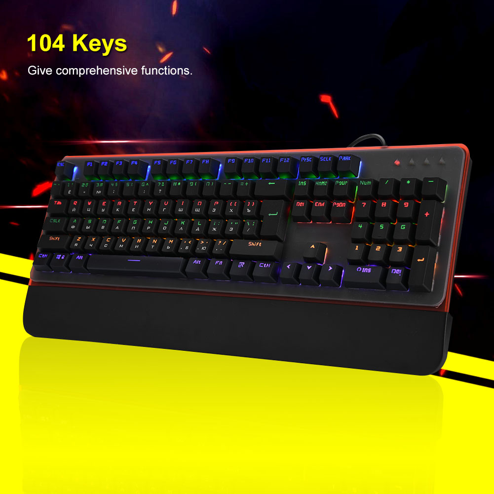 USB-Wired-Gaming-Mechanical-Keyboard-Backlit-Blue-Switch-For-Desktop-Laptop-PC