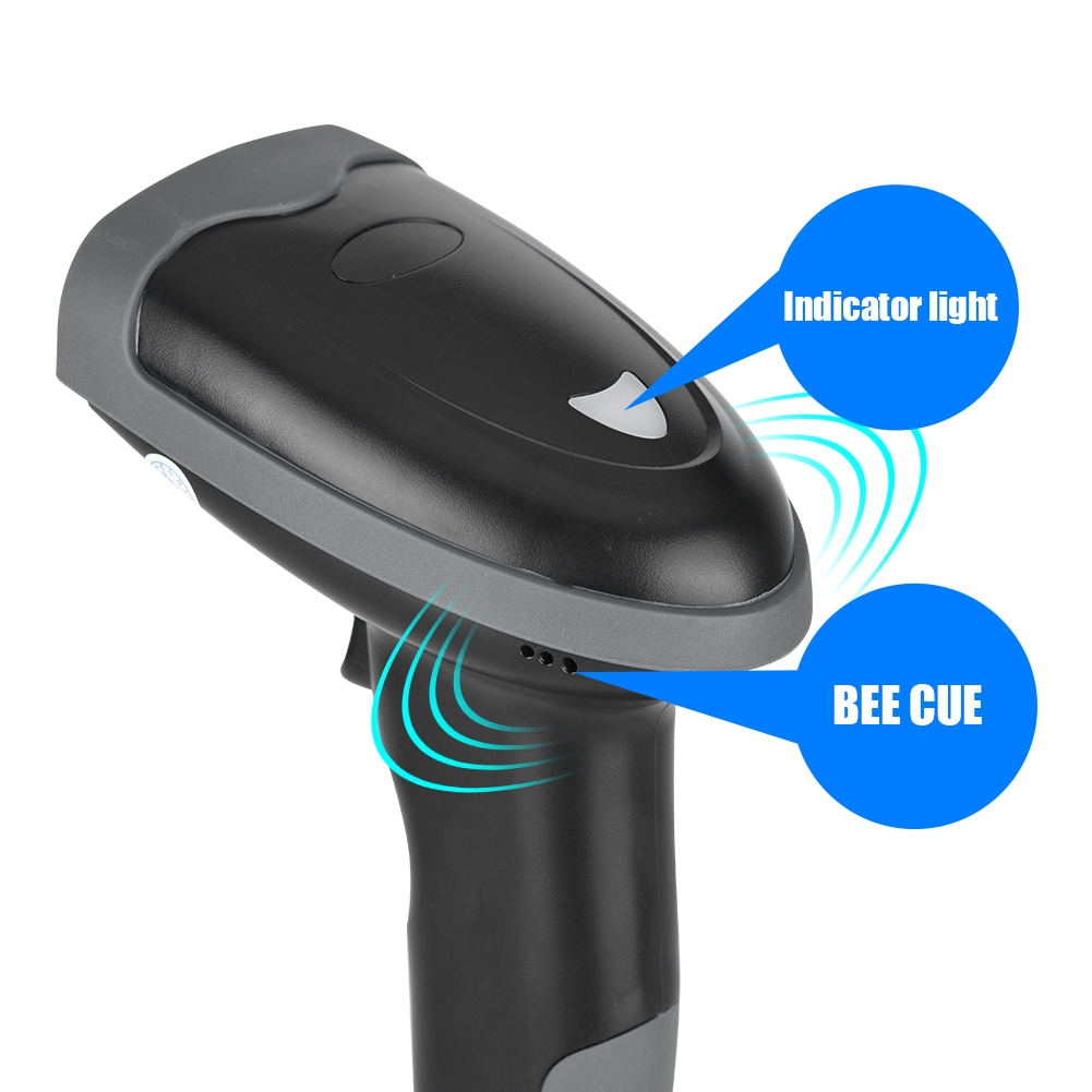 2.4G 1D USB Handheld Wireless/Wired Laser Portable Laser Barcode ...