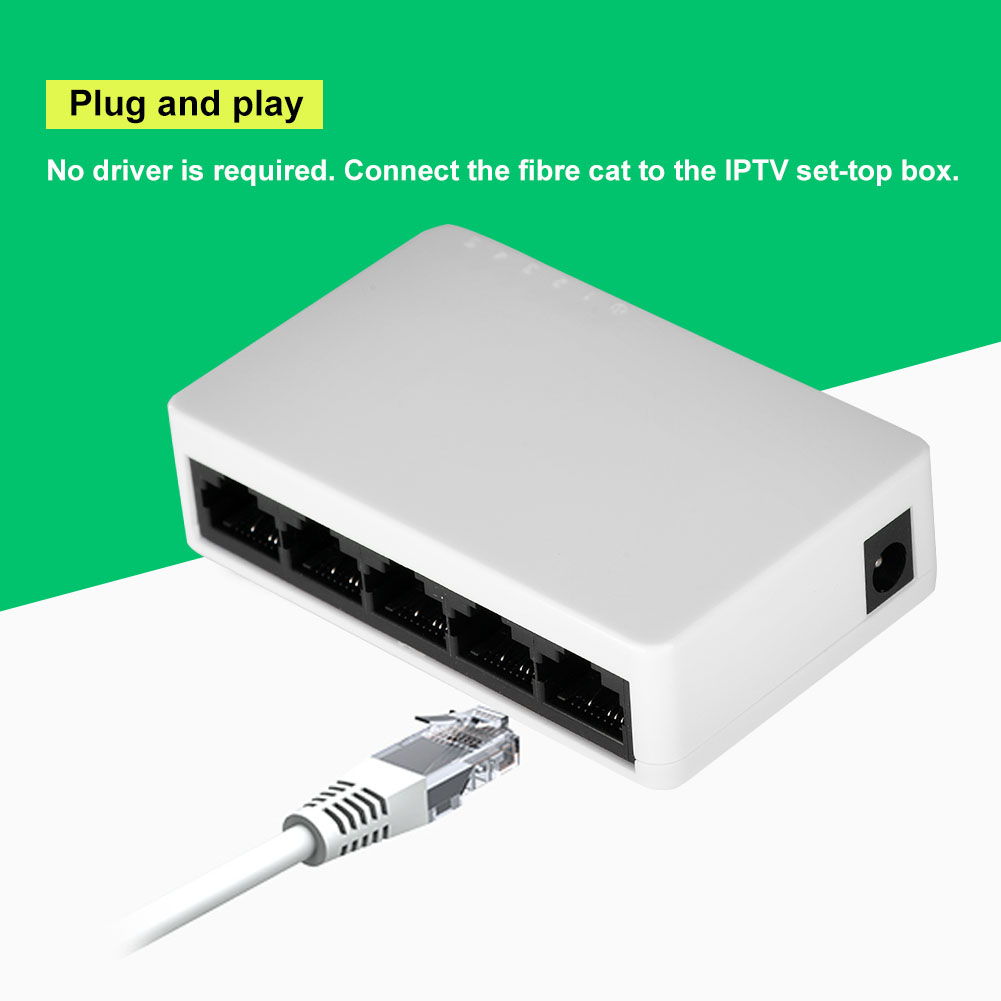 5-8-16-Port-Network-Switch-10-100M-Fast-LAN-Ethernet-HUB-Mini-Desktop-Adapter-TP