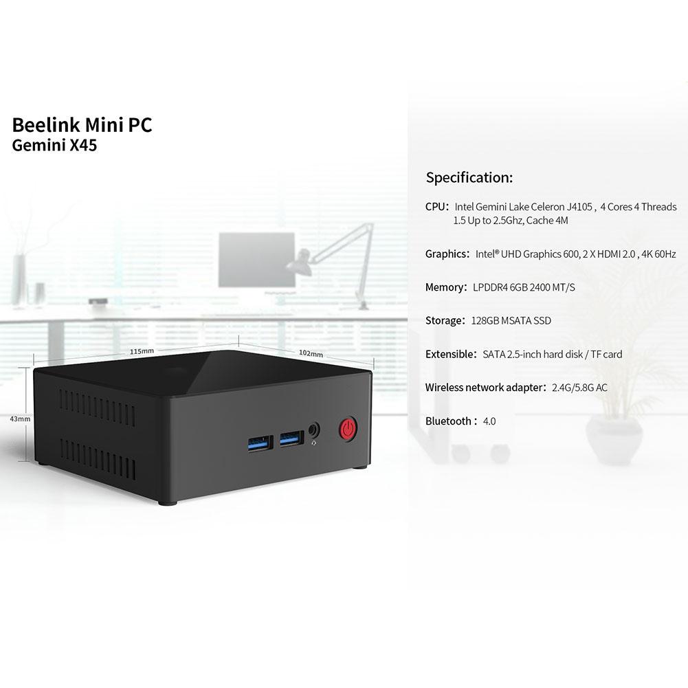 Beelink-Gemini-X45-Mini-PC-4G-64G-6G-128G-64Bit-WiFi-Bluetooth-USB-HDMI-RJ45-WY