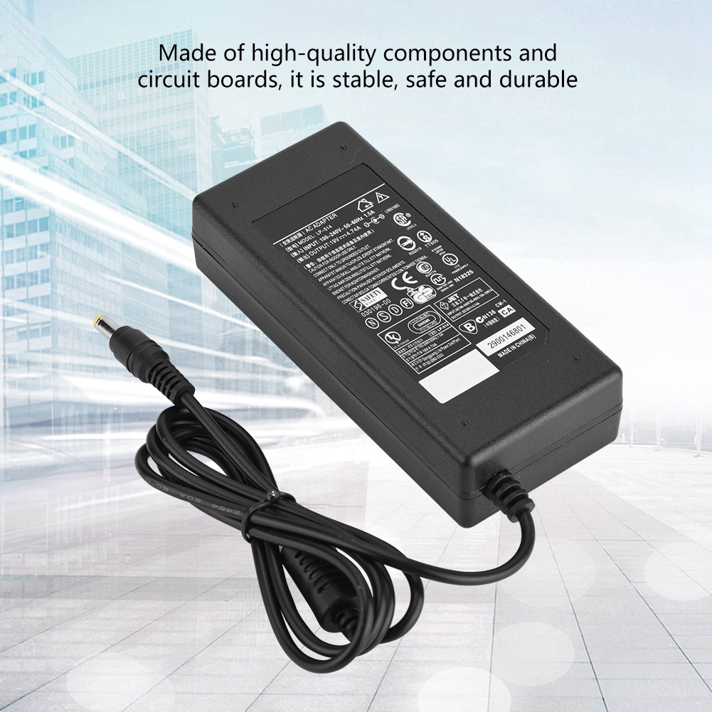 19V-45-65-90W-4-74A-Laptop-Charger-Cord-AC-Adapter-Power-Supply-For-Dell-Acer miniature 24