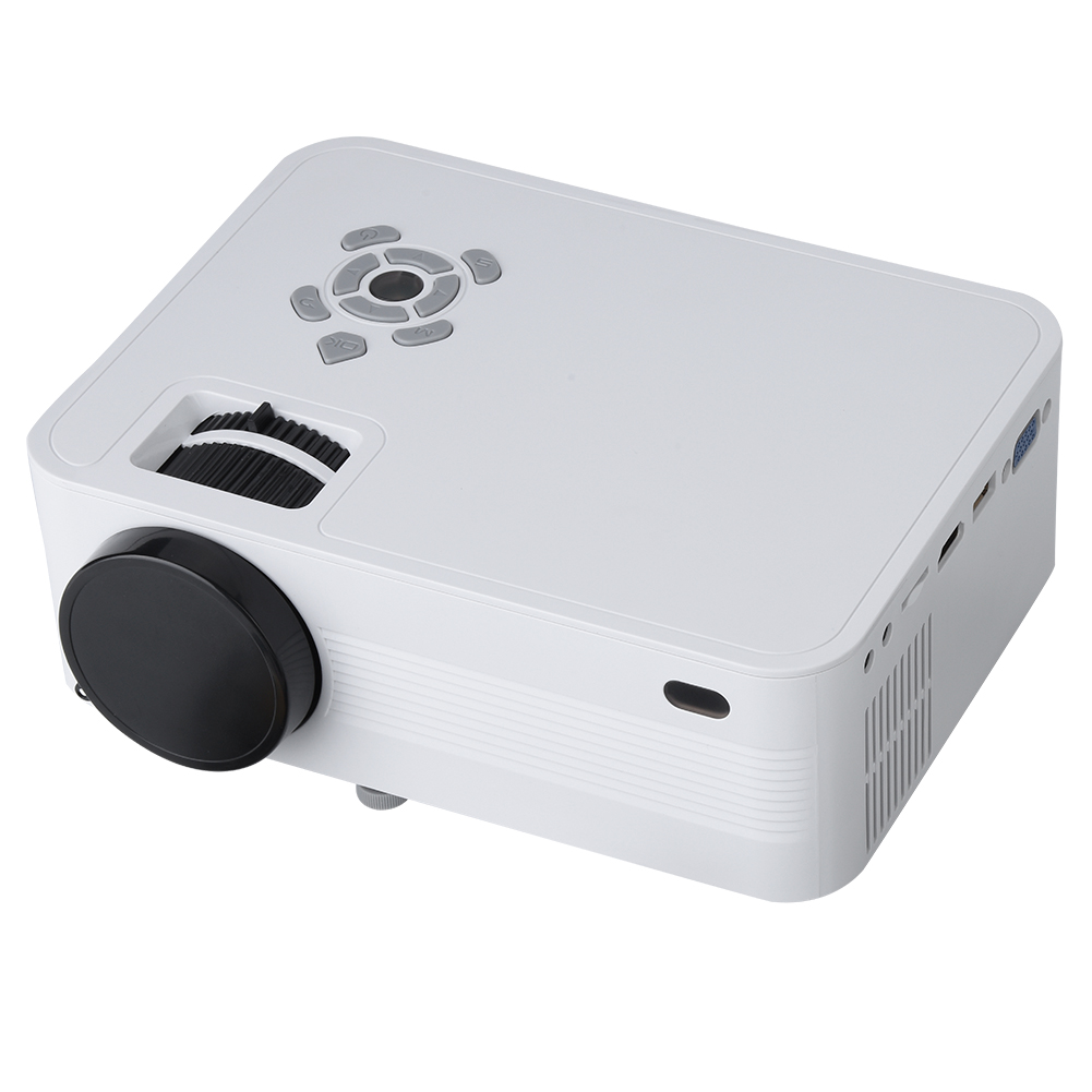 Mini 1080p Full Hd Led Projector Home Theater Cinema 3d: Mini 1080P HD LED Projector Video Home Theater Cinema HDMI