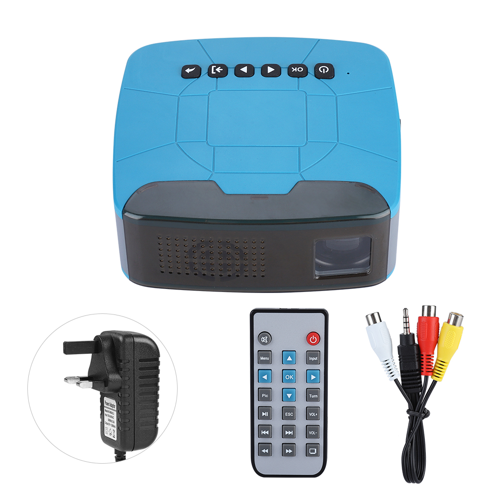 Hd Home Theater Multimedia Lcd: Mini 1080P Full HD LCD LED Multimedia Projector Home