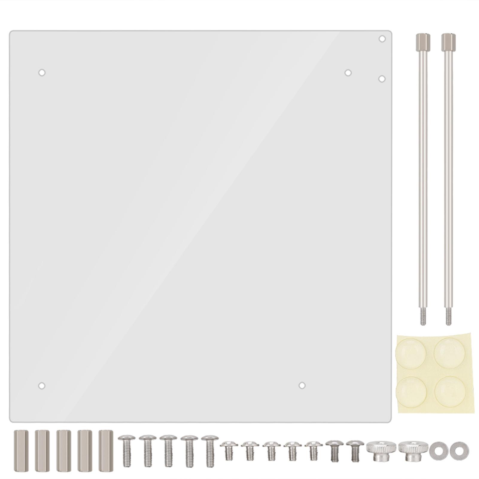 Open-Frame-Transparent-Acrylic-Computer-PC-Case-DIY-ITX-M-ATX-ATX-Motherboard-AP thumbnail 11