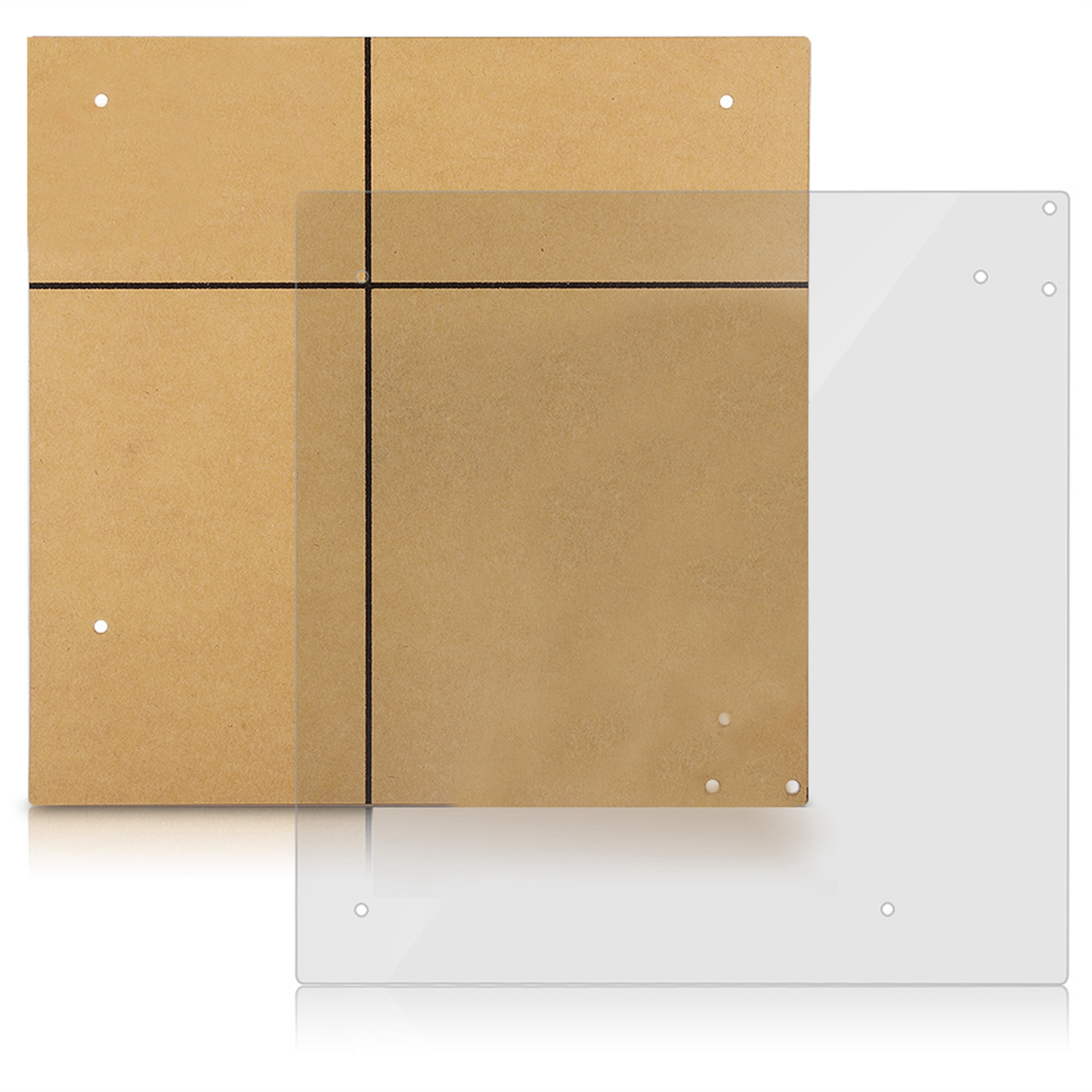 DIY-Open-Frame-ITX-M-ATX-ATX-Motherboard-Transparent-Stand-For-Computer-Case-SPS thumbnail 11
