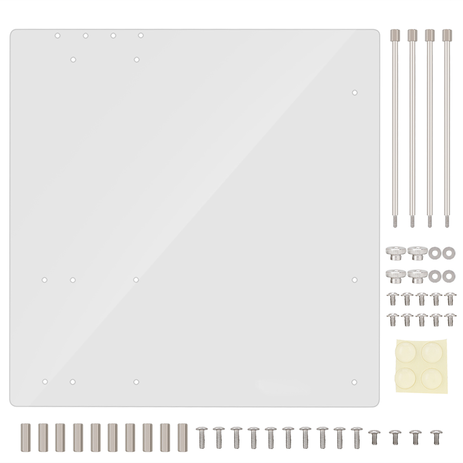 Open-Frame-Transparent-Acrylic-Computer-PC-Case-DIY-ITX-M-ATX-ATX-Motherboard-SG thumbnail 17