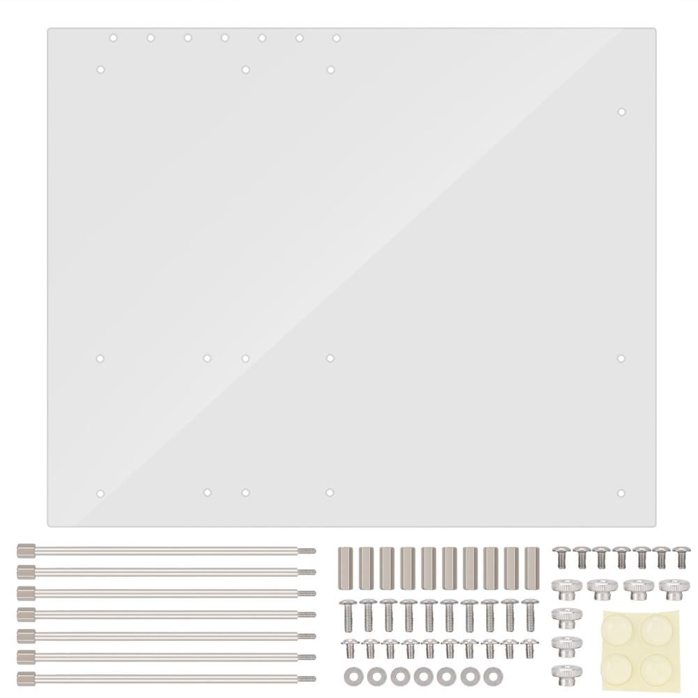 Open-Frame-Transparent-Acrylic-Computer-PC-Case-DIY-ITX-M-ATX-ATX-Motherboard-SG thumbnail 14