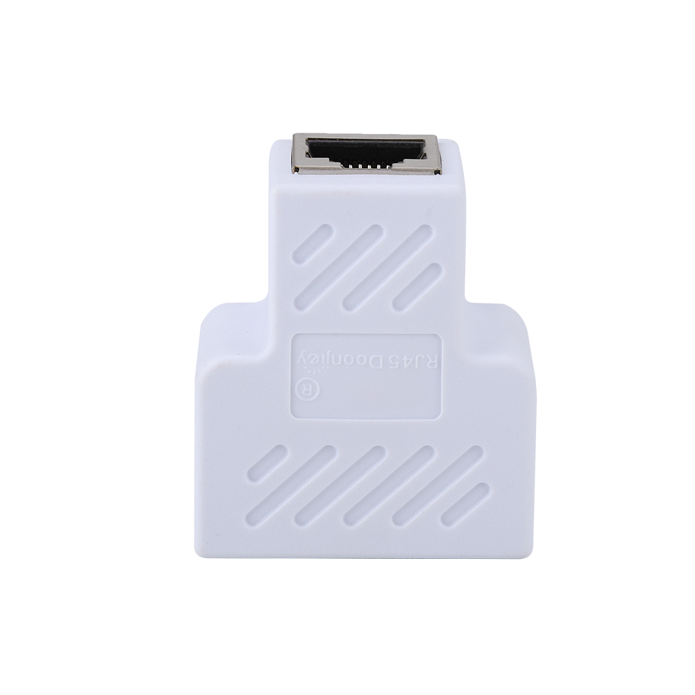 RJ45-1-To-2-LAN-Port-Ethernet-Network-Cable-Male-Dual-Splitter-Connector-Adapter thumbnail 14