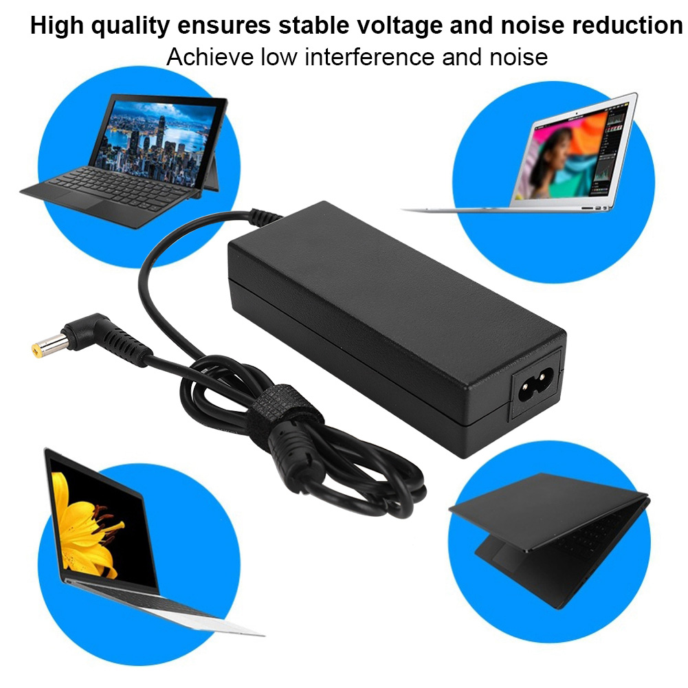 2-3Pin-Plug-90W-Notebook-Power-AC-Adapter-Charger-for-Samsung-M50-M55-AD-9019-GB miniature 27