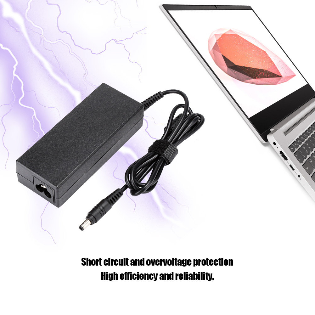 2-3Pin-Plug-90W-Notebook-Power-AC-Adapter-Charger-for-Samsung-M50-M55-AD-9019-GB miniature 17