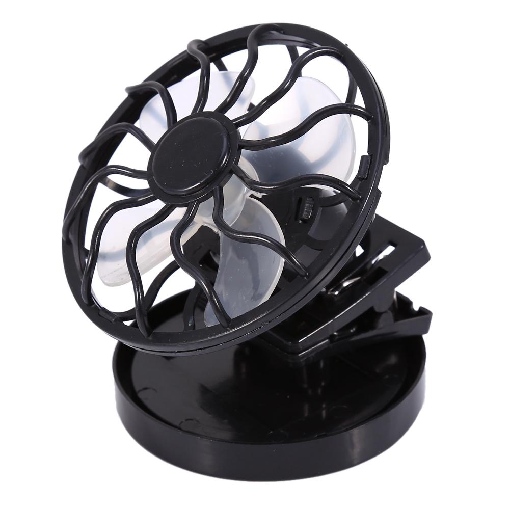 Inicio Solaire Petit Ventilateur Mini Portable Clip Cap Ventilateur /Économie D/Énergie /Électrique Vent Ventilateur de Refroidissement Personnel pour Voyage Camping P/êche Escalade