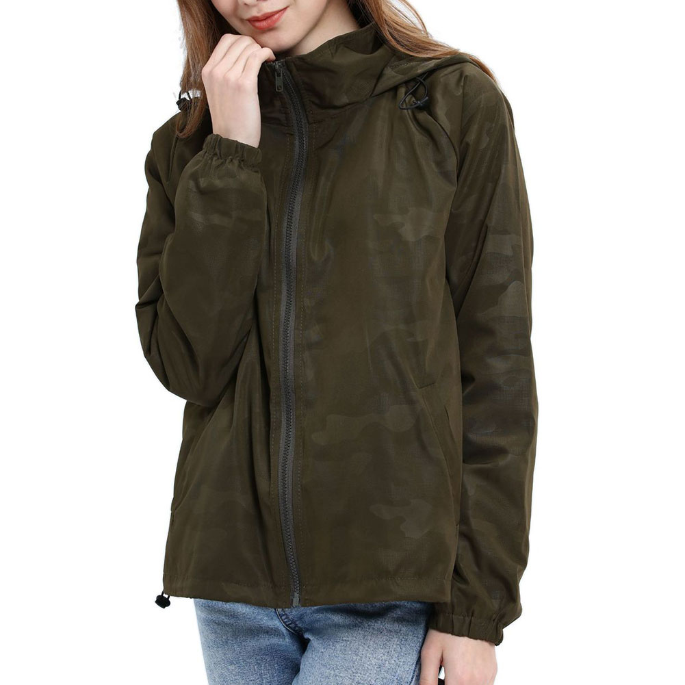 Women-Waterproof-Outdoor-Hiking-Trekking-Jacket-Hooded-Windbreaker-Top-Pockets thumbnail 12
