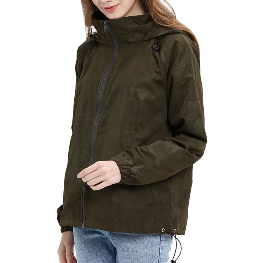 Women-Waterproof-Outdoor-Hiking-Trekking-Jacket-Hooded-Windbreaker-Top-Pockets thumbnail 13