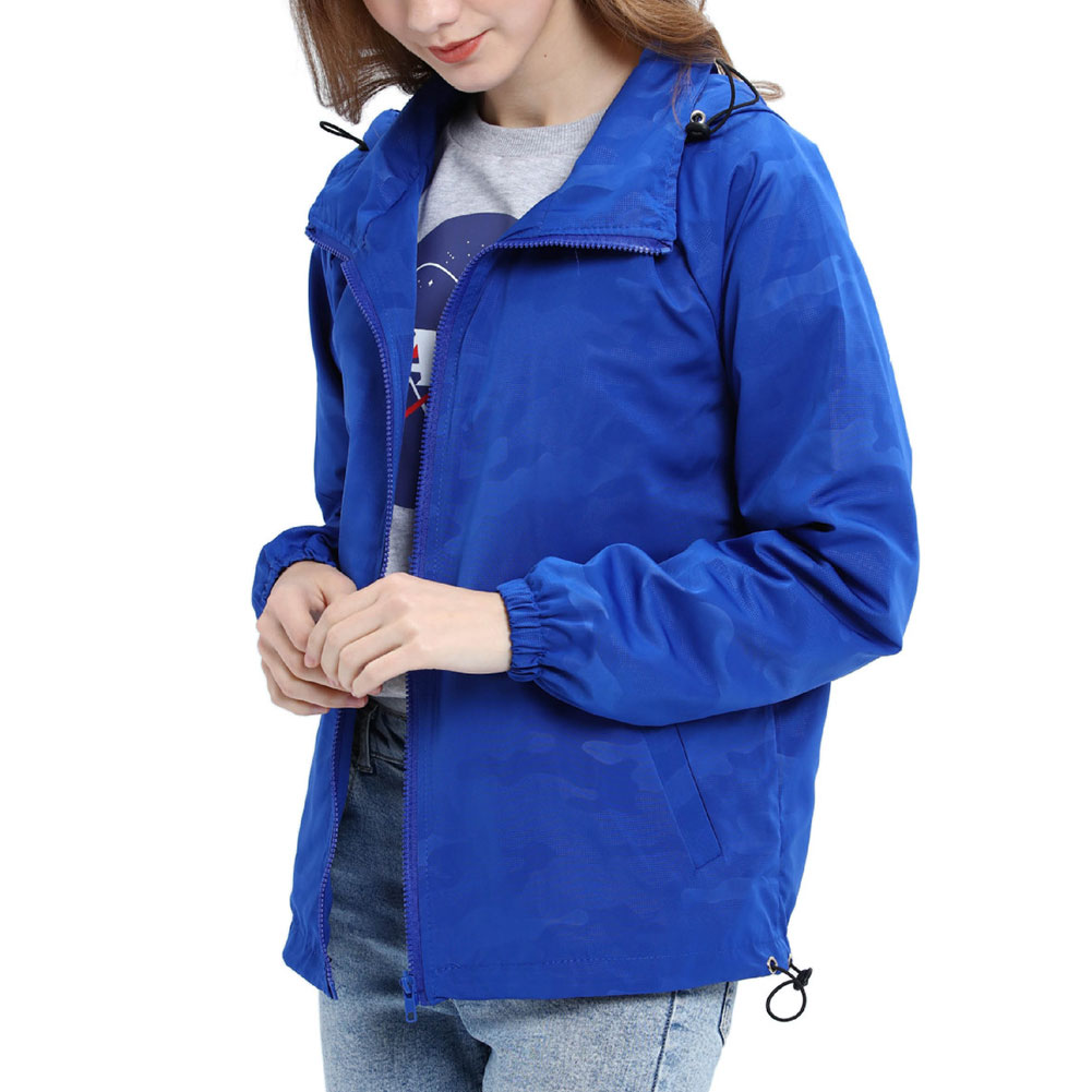 Women-Waterproof-Outdoor-Hiking-Trekking-Jacket-Hooded-Windbreaker-Top-Pockets thumbnail 15