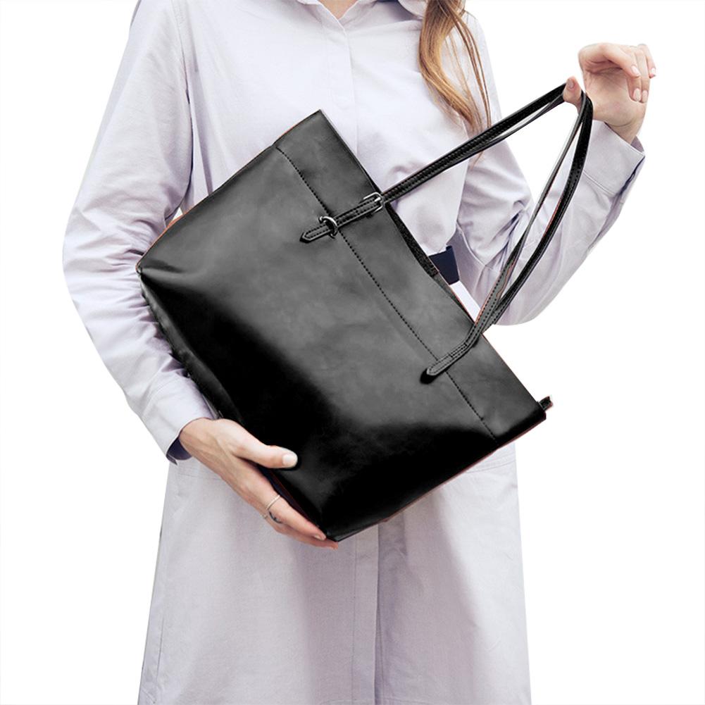 89a391320 Women's Handbag Leather Travel Laptop Bag Large Capacity Ladies ...