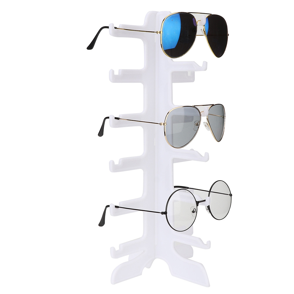 Sunglasses-Holder-Eyeglass-Rack-Glasses-Display-Stand-Organizer-Tray-Frame-Lots thumbnail 48