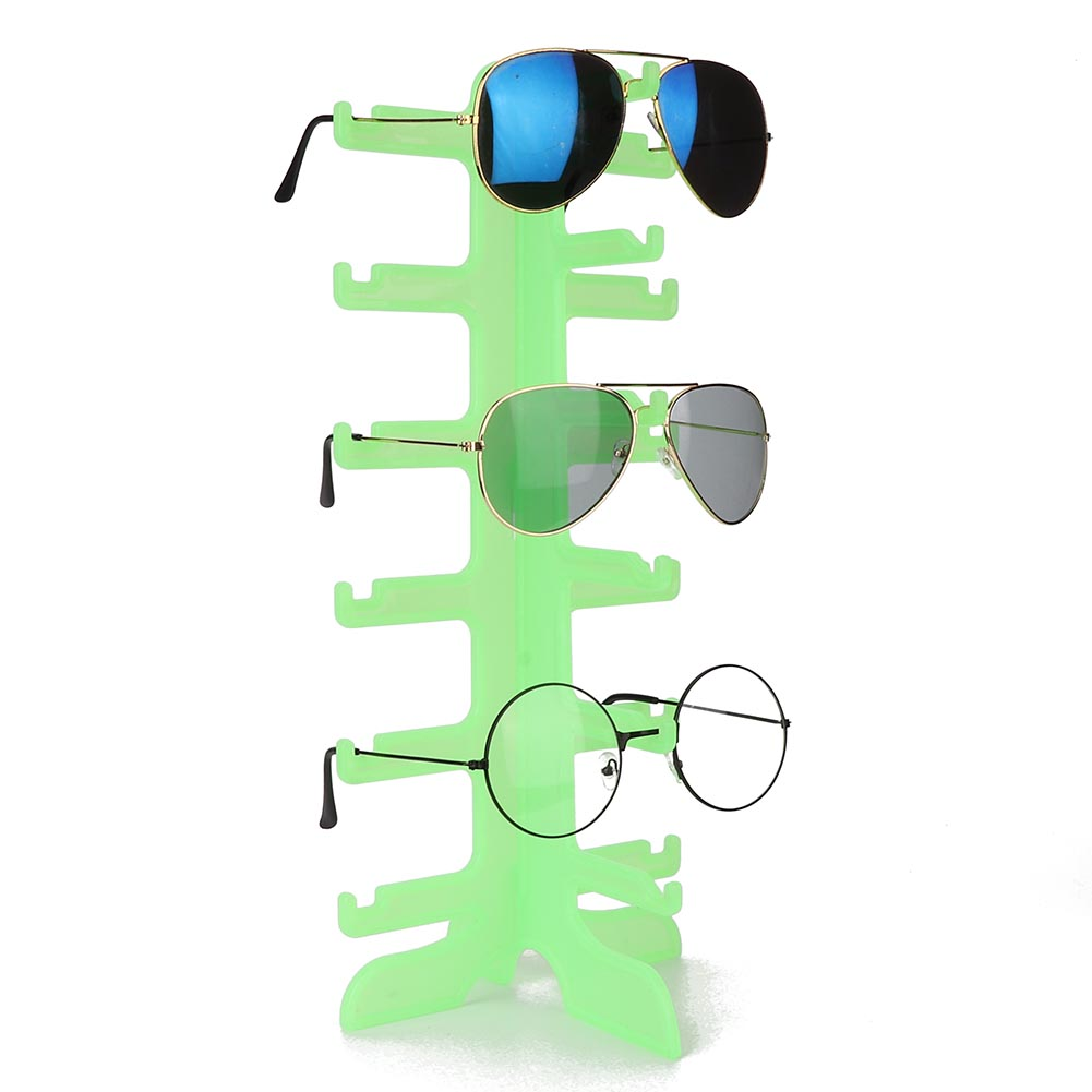 Sunglasses-Holder-Eyeglass-Rack-Glasses-Display-Stand-Organizer-Tray-Frame-Lots thumbnail 54