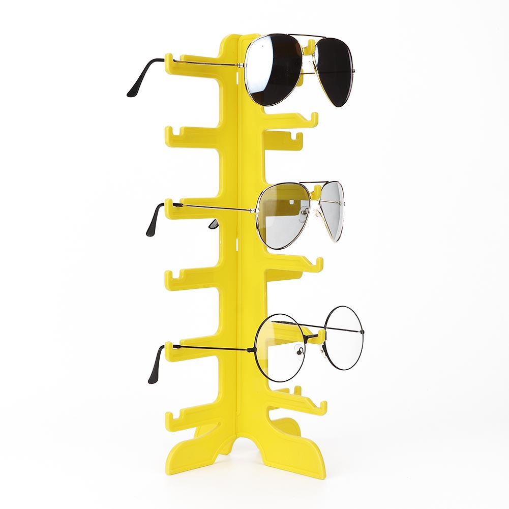 Sunglasses-Holder-Eyeglass-Rack-Glasses-Display-Stand-Organizer-Tray-Frame-Lots thumbnail 57