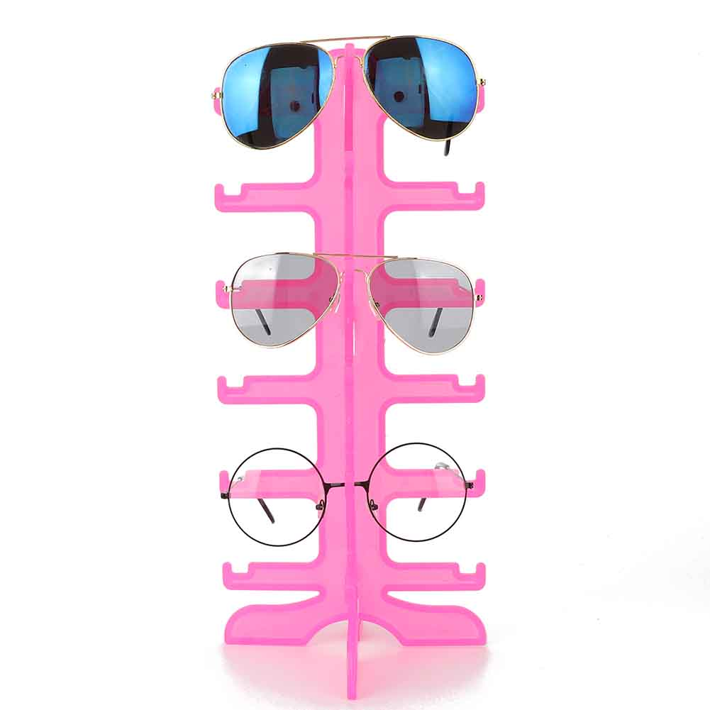 Sunglasses-Holder-Eyeglass-Rack-Glasses-Display-Stand-Organizer-Tray-Frame-Lots thumbnail 60
