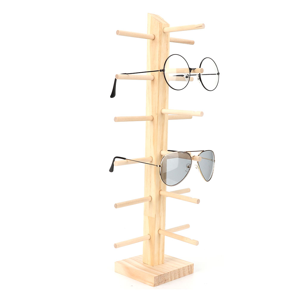 Sunglasses-Holder-Eyeglass-Rack-Glasses-Display-Stand-Organizer-Tray-Frame-Lots thumbnail 45