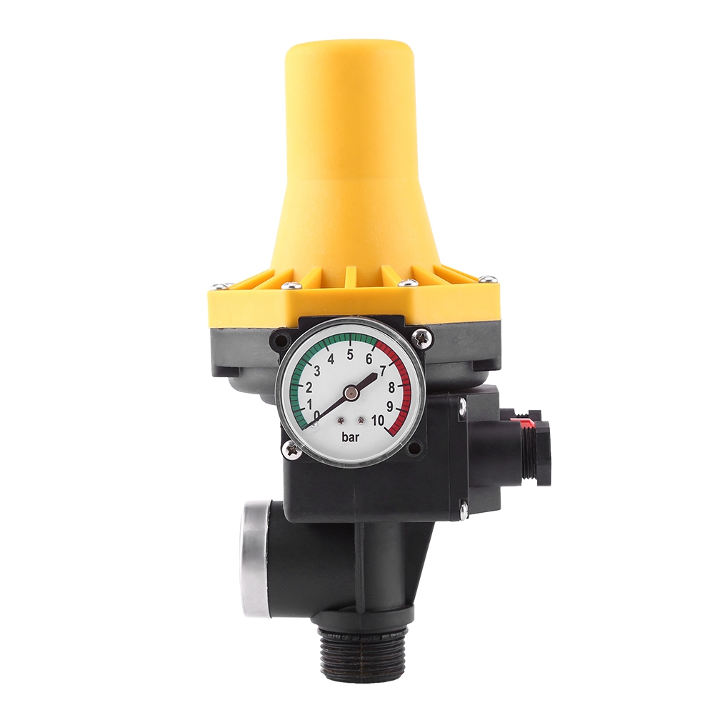 Electric Control Switch Of Automatic Water Pump Control With Manometer 220V