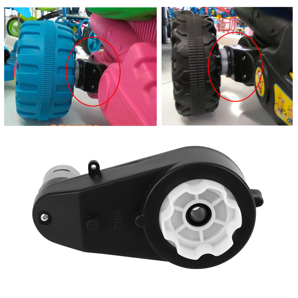 12V-Electric-Motor-Gear-Box-8000-30000RPM-For-Kids-Ride-On-Car-Bike-Toy-Parts thumbnail 15
