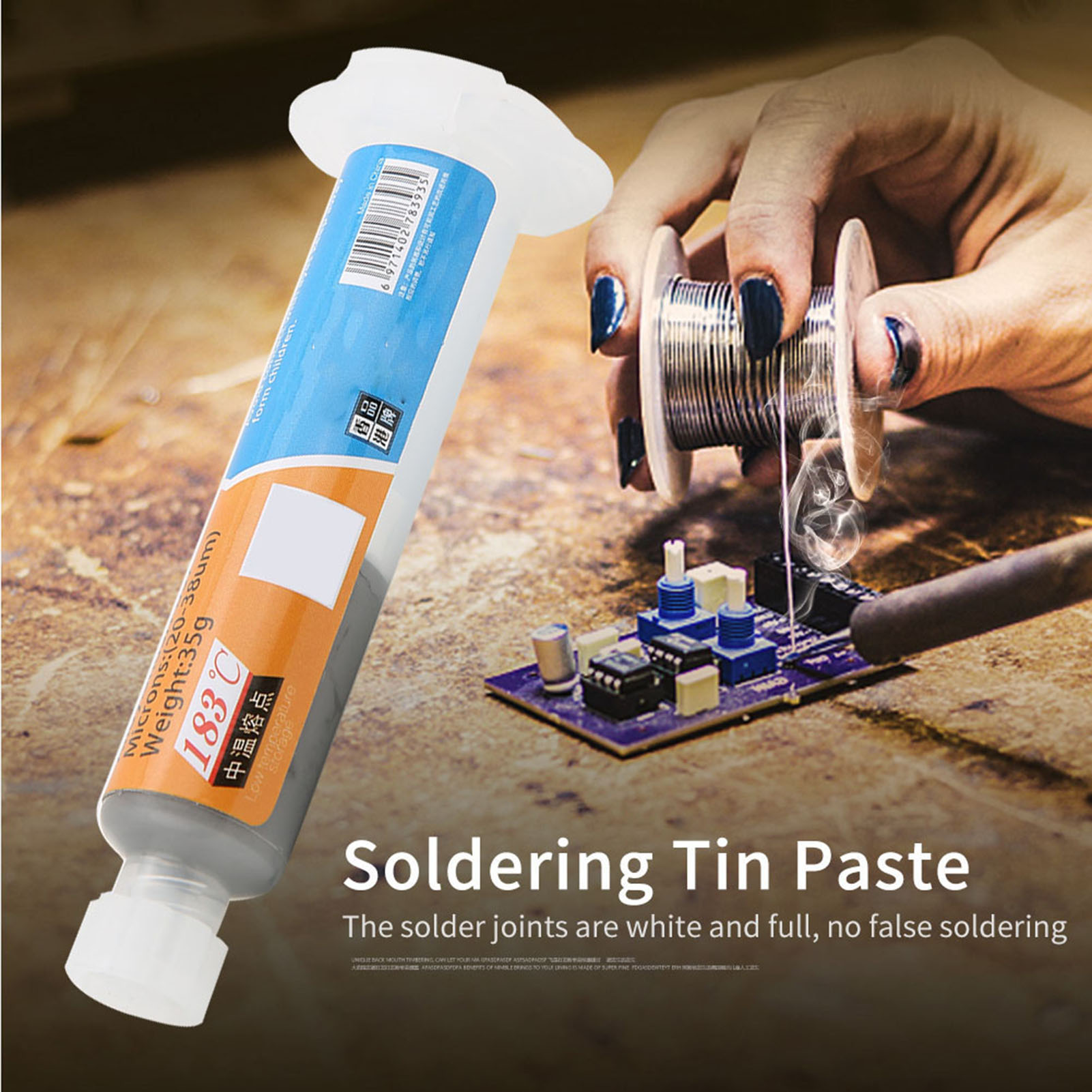 XG-Z40-10cc-Soldering-Tin-Paste-Cream-Soldering-Flux-Sn63-Pb37-25-45um-HighQ