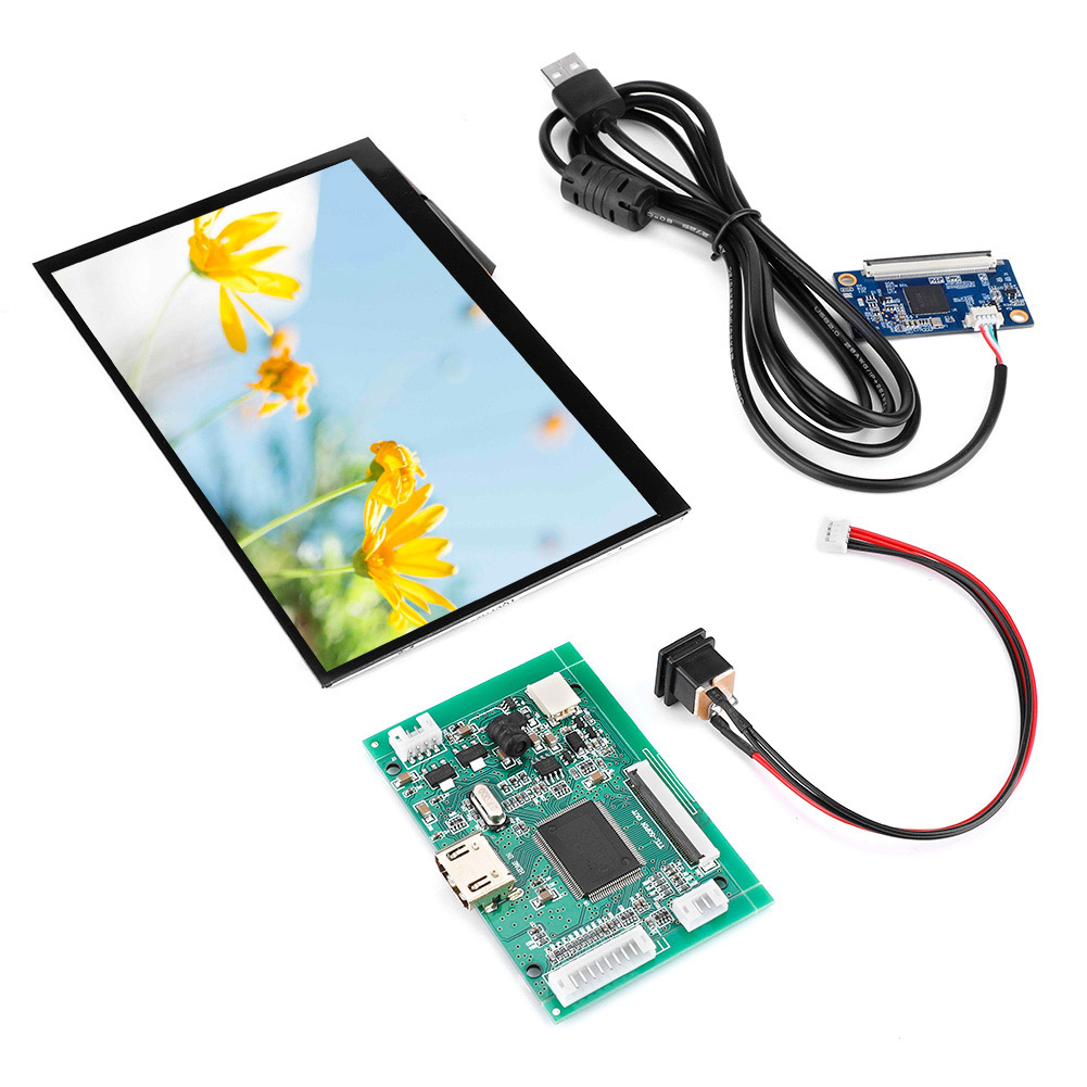 7inch-Raspberry-Pi-3-LCD-Display-800-480-1024-600-HDMI-VGA-Monitor-Screen-Kit thumbnail 10