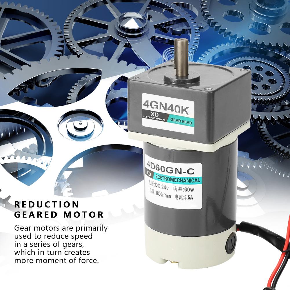 Motoriduttore-10-1000rpm-DC-24V-60-90-120W-Velocita-Regolabile-CW-CCW-Gear-Motor thumbnail 47