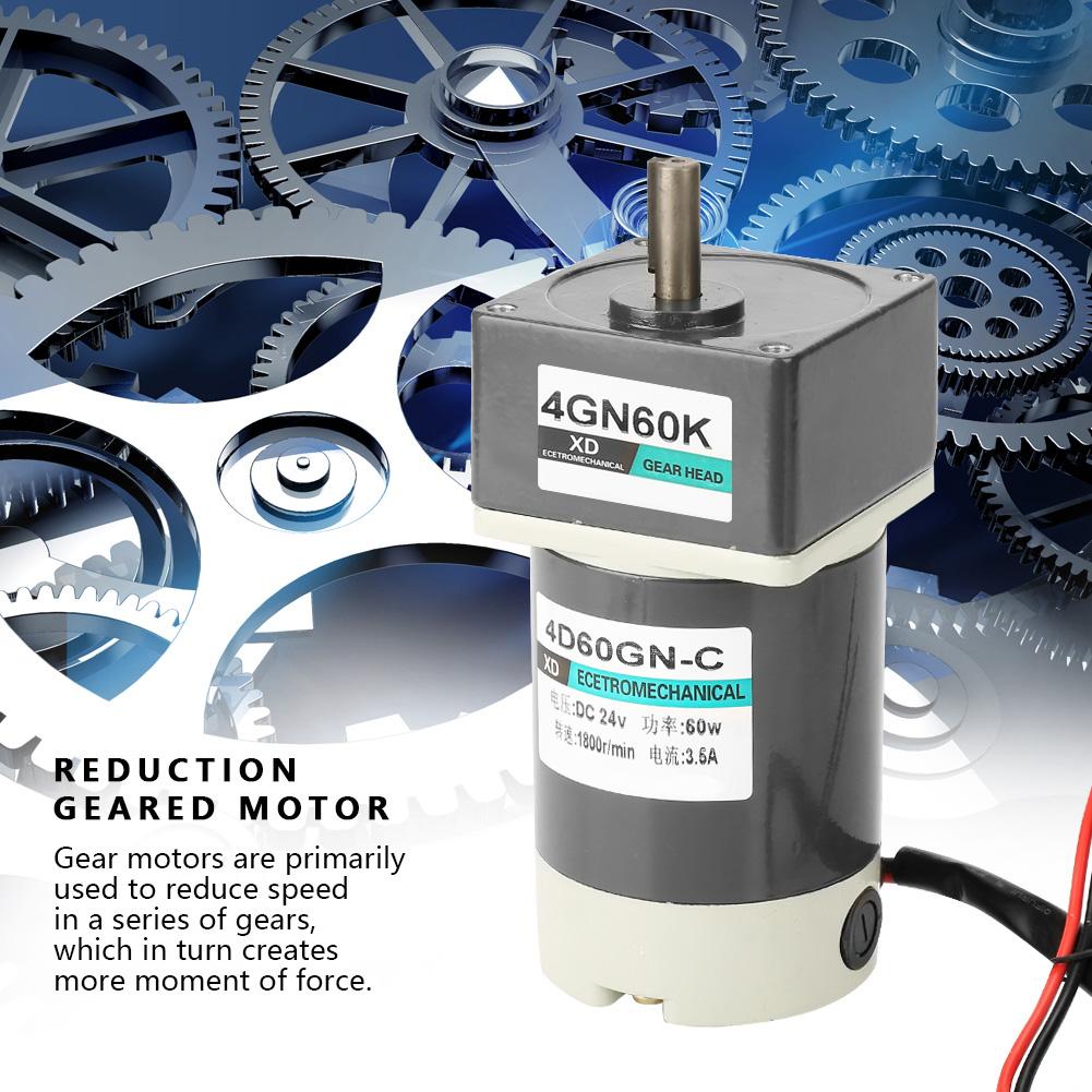 Motoriduttore-10-1000rpm-DC-24V-60-90-120W-Velocita-Regolabile-CW-CCW-Gear-Motor thumbnail 53