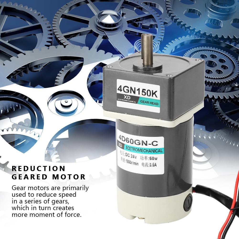 Motoriduttore-10-1000rpm-DC-24V-60-90-120W-Velocita-Regolabile-CW-CCW-Gear-Motor thumbnail 65