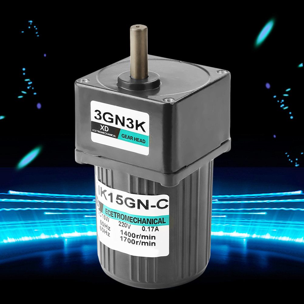 AC220V 25W 0.45A 4IK25GN-C Single Phase Gear Motor Low Speed with Capacitor