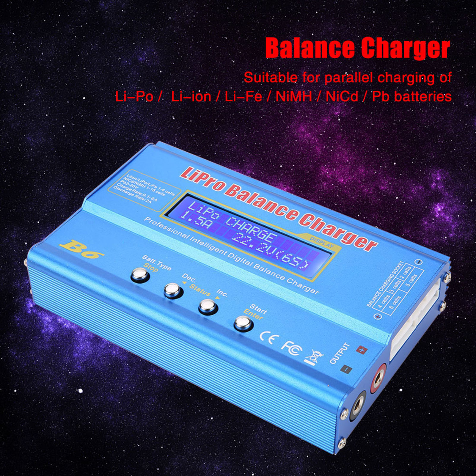 B6-80W-Digital-LCD-Balance-Charger-Discharger-for-Li-Po-Li-ion-NiMH-RC-Battery