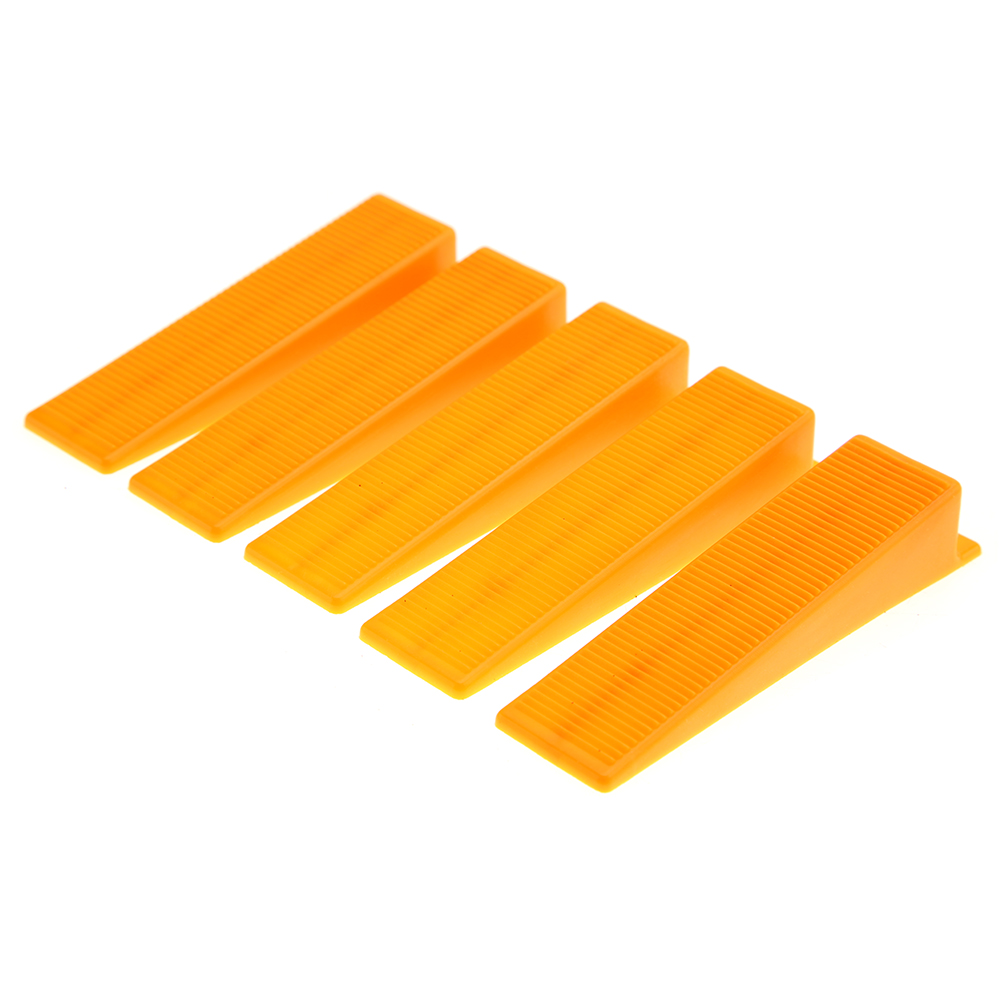 100pcs Plastic Tile Leveling System Spacer Wedges Wall