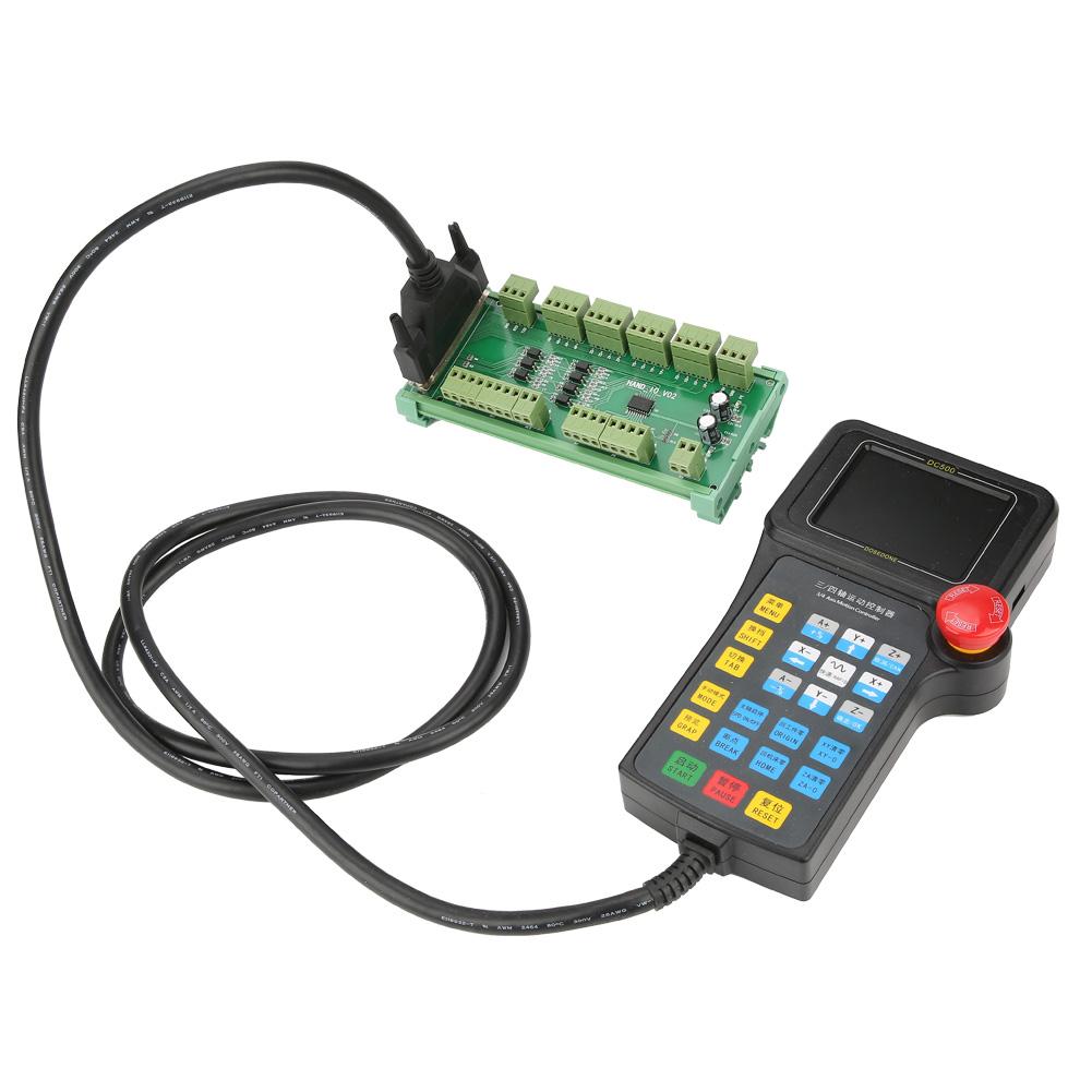 Neu-3-4-Achsen-DC500-Controller-Handle-fuer-CNC-Router-Engraver-Engraving-Machine Indexbild 17
