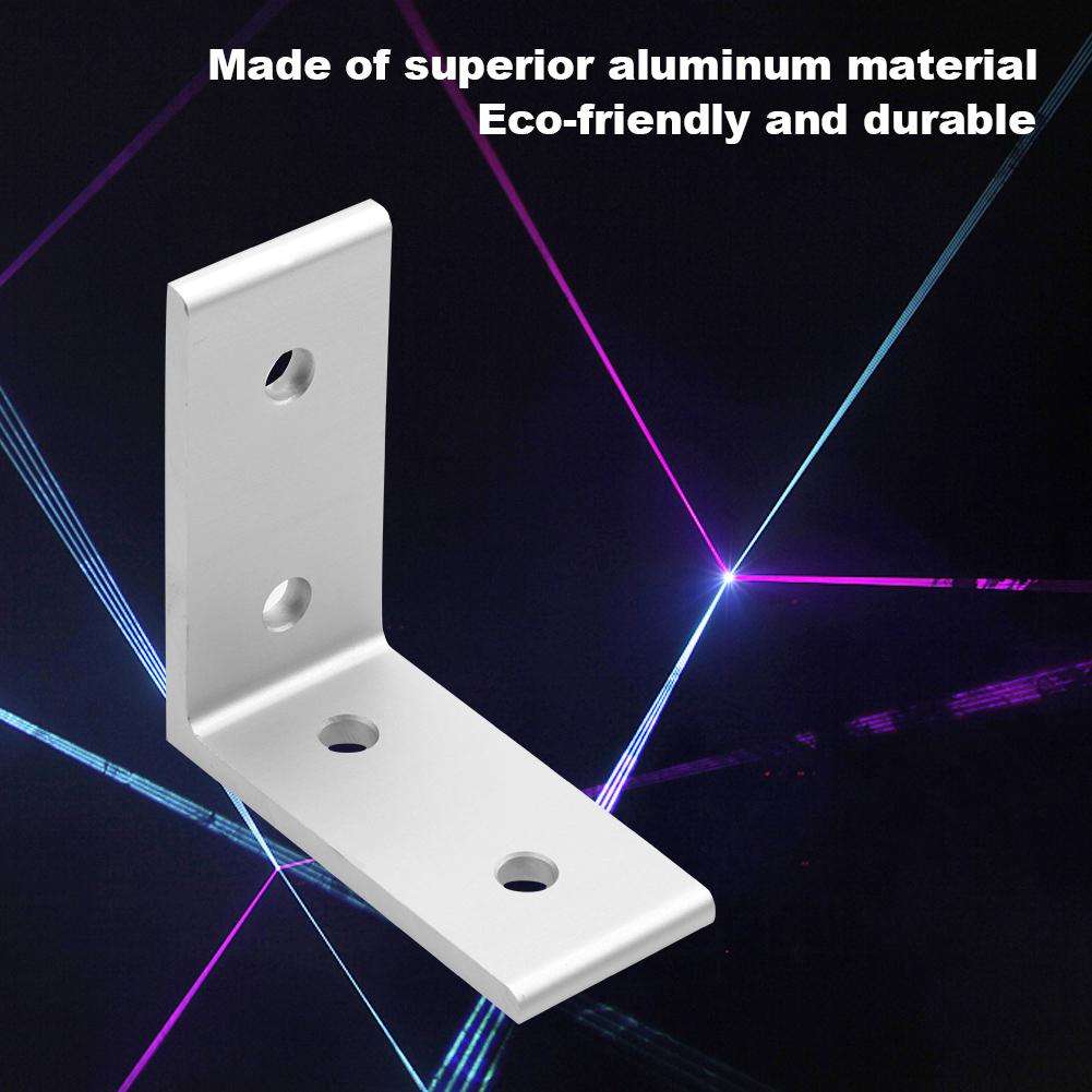 4-Holes-Aluminum-Profile-Corner-Bracket-L-Shaped-Brace-Fastener-for-Furniture thumbnail 21