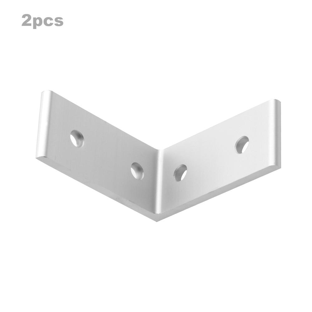 4-Holes-Aluminum-Profile-Corner-Bracket-L-Shaped-Brace-Fastener-for-Furniture thumbnail 23