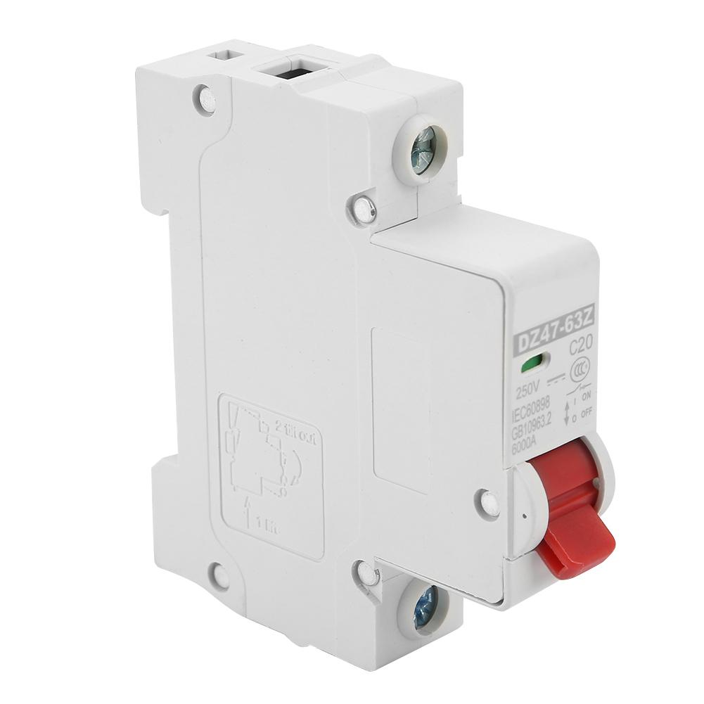 10-16-20-32-40-63A-DC-Miniature-Circuit-Breaker-1P-1-Pole-250V-for-Solar-Energy thumbnail 21