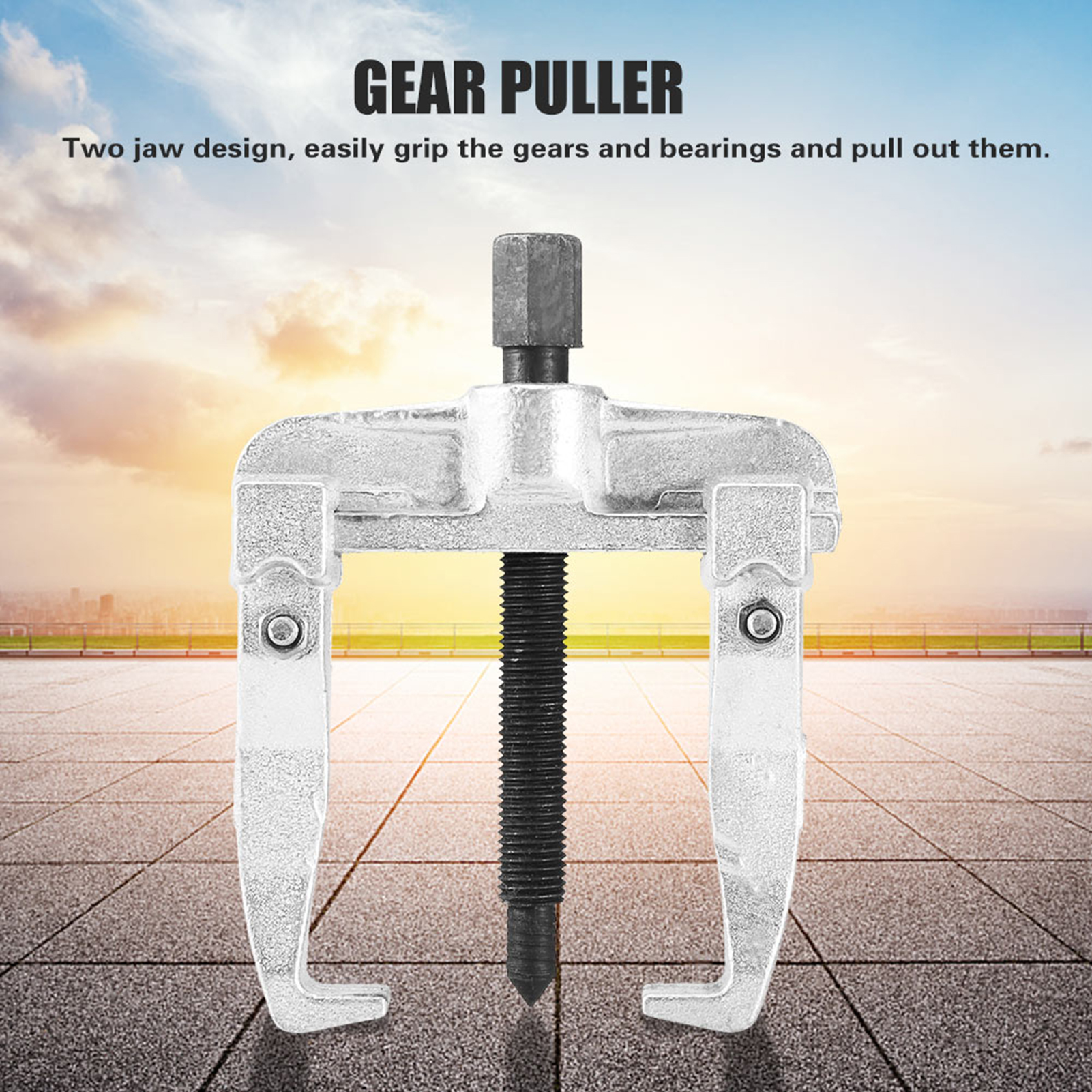 US-2-Jaw-Bearing-Puller-Sliding-Arm-Gear-Bearing-Puller-Extractor-Remover-Tool thumbnail 14