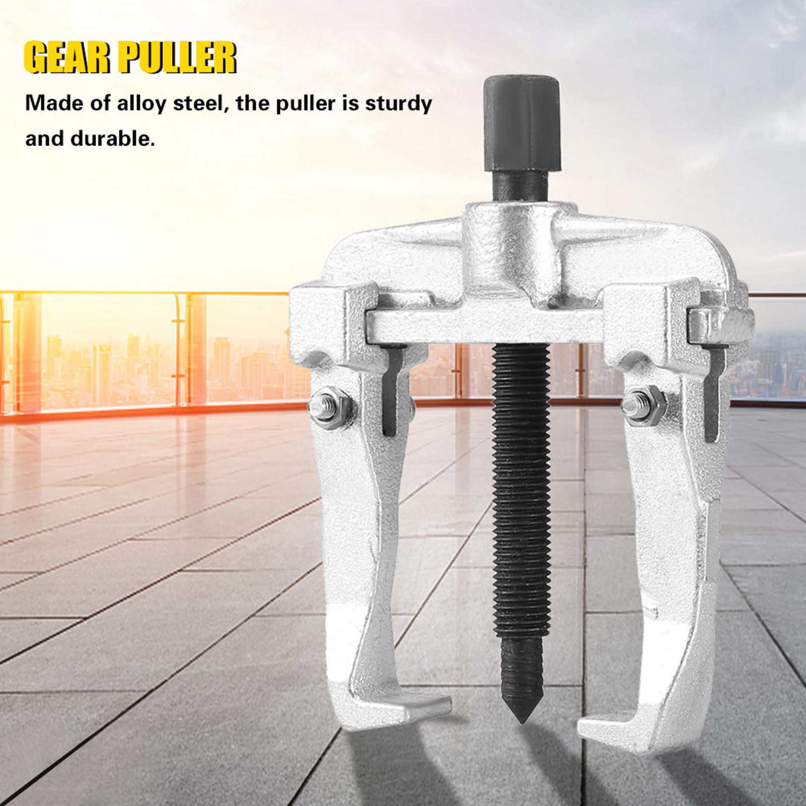 US-2-Jaw-Bearing-Puller-Sliding-Arm-Gear-Bearing-Puller-Extractor-Remover-Tool thumbnail 15
